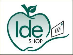 Ide shop logo